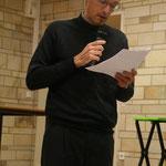 Mickaël Bricault, membre de l'équipe pastorale