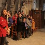 ... et les jeunes : ce dimanche des Scout(e)s de France