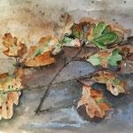 """""""Herbst"""", Aquarell 30 x 40, 2019"""