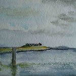 """Langeness - Neuwarf"""", Aquarell, 30 x 40, 2005"""