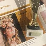 Eerste prijs Lashstylist Magazine 5e editie Lash Art