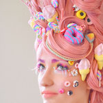 Colour Lashes voor Lashstylist Magazine thema Candy