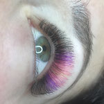 Colour Lashes voor Lashstylist Magazine thema Candy mei 2018