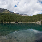 Lago di Saoseo (Poschiavo Valley, Switzerland) -  Mirroring of the Mountains     © Stephan Stamm