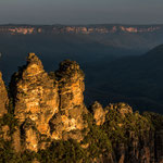 The Tree Sisters in the Blue Moutains in the late afternoon light (New South Wales) © Stephan Stamm