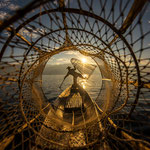 Fisherman at Inle Lake, Myanmar     © Stephan Stamm