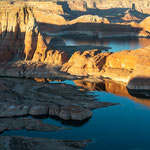 Sun and shade at the Lake Powell, Page (Arizona, USA)     © Stephan Stamm
