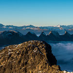 Säntis The Mountain (Appenzell, Switzerland) - The spectacular Churfirsten range     © Stephan Stamm