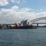 The Sydney Opera House and the Harbour Bridge from Farm Cove (Sydney, New South Wales) © Stephan Stamm