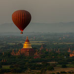 Some of the more than 3800 pagodas and stupas in Bagan, Myanmar     © Stephan Stamm