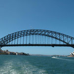 Harbour Bridge from Darling Harbour, Sydney NSW