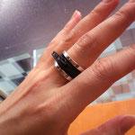 zip ring ファスナーリング