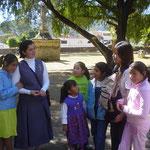 メキシコで地域の人とおはなしをする機会が。