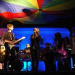 Im Jugendlager wird jährlich die Teilnehmerband gegründet.