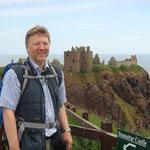 Dunnottar Castle in Aberdeenshire, Schottland