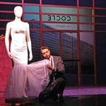 """Andrea Coclé"" in ""Die stumme Serenade"" am Landestheater Coburg / ©Andrea Kremper"