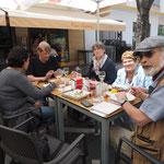 Mittagessen in Jerez
