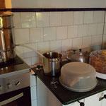 Entsaften, Apfelkuchen und dörren der Apfelchips... Alles zeitgleich natürlich. :-)