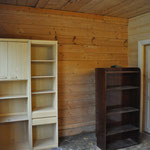 Alle Möbel, die uns im Haus nicht gefallen, werden in der Werkstatt aufgestellt.