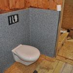 ...die neue Toilette.