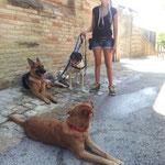 Vicky , Kira , Bhach e Penny