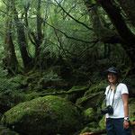 縄文杉1泊ツアーで、もののけの森へ。