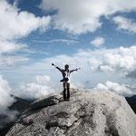 黒味岳ツアー、快晴の頂上!