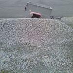 De ruim 1500 kg grind