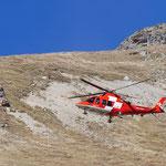 Gelungener Einsatz einer REGA-Crew im Gebiet Languard.