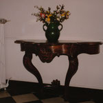 Restauration console noyer