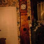 Caisse d'horloge copie d'ancien