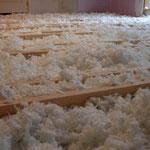 Isolation combles laine de coton
