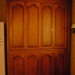 Meuble d'appoint portes coulissantes