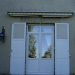 Porte fenêtre à imposte fixe