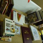 Ein Blick auf unsere Stammtisch-Bücherei