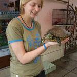 Katharina und Schildkröte
