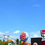 Typischer Drache (Blick von der Discovery Mall, Kuta)