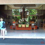 Eingang ins Hotel Risata Resort&Spa