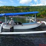 Fischerboot, bzw. Tauchboot