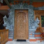 Eingangtür des Bungalow