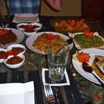 Ergebnis des Kochkurses in Amed
