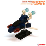 Blocks World Space War Starship Troopers K28A-6A