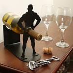 Vlad the Impaler Metal Wine Bottle Holder 串刺しワインボトルホールダー