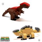 Blocks World Dinosaurs ブロックワールド 恐竜シリーズ