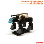 Blocks World Space War Starship Troopers K28A-7A