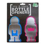 His & Hers Bottle Opener 彼と彼女のボトルオープナー 栓抜き