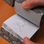 Minecraft Sticky Notecube マインクラフトノートキューブ JNX-021
