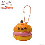 Sammy the Patissier Halloween Pumpkin Cream Puffs Super Squishy (Strawberry)