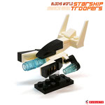 Blocks World Space War Starship Troopers K28A-1A