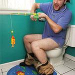 Hook Line & Stinker Toilet Fishing Game トイレで釣り!? トイレフィッシングゲーム